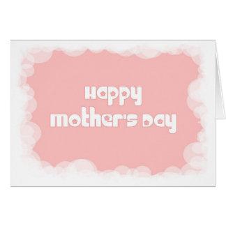 El día de madre feliz felicitacion