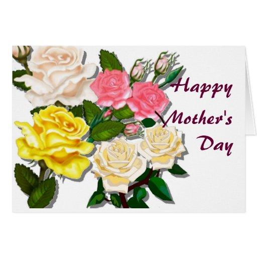 El día de madre feliz felicitaciones