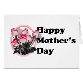 El día de madre feliz tarjeta pequeña