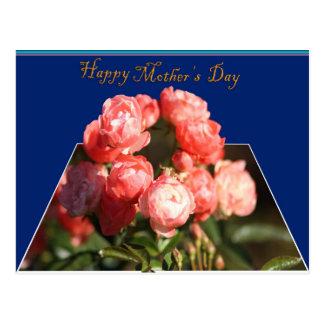 El día de madre feliz tarjeta postal