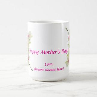 El día de madre feliz taza de café