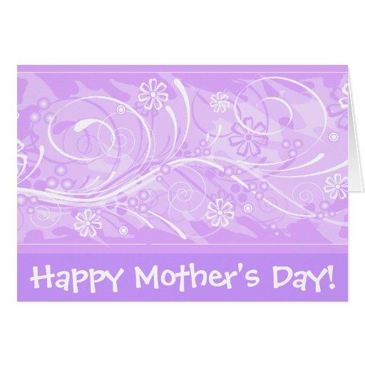 ¡El día de madre feliz! _violet Tarjeta