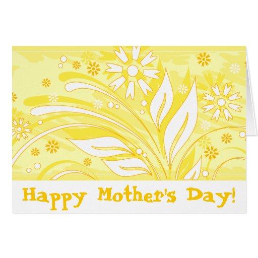 ¡El día de madre feliz! _yellow Felicitacion