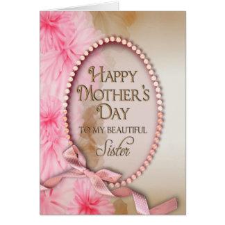 El día de madre - hermana - tarjetas