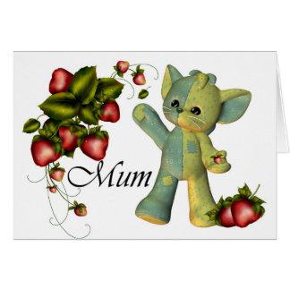 El día de madre, momia feliz del día de madre tarjeta de felicitación
