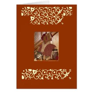 El día de madre remilgado feliz tarjeta de felicitación