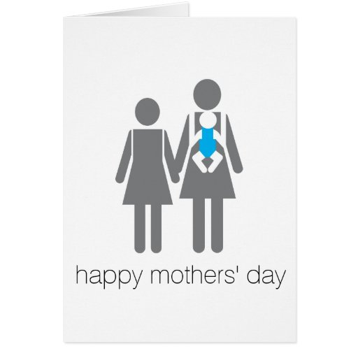 ¡El día de madres feliz! Felicitación