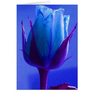 El día de padre feliz II color de rosa azul Tarjeta De Felicitación
