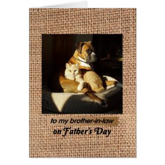 El día de padre, para el cuñado, el boxeador y el  felicitacion