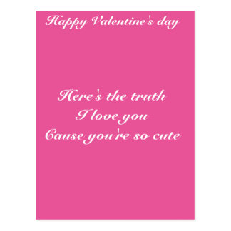 El día de San Valentín del nieto de la nieta Postal