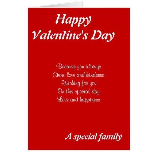 El día de San Valentín especial de la familia Tarjetón