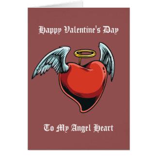 El día de San Valentín feliz a mi gráfico del Tarjeta De Felicitación