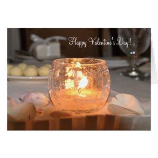 ¡El día de San Valentín feliz! Tarjeta