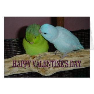 El día de San Valentín feliz V Tarjeta