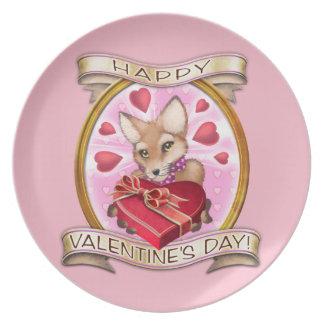 El día de San Valentín - Frieda ata la placa Plato