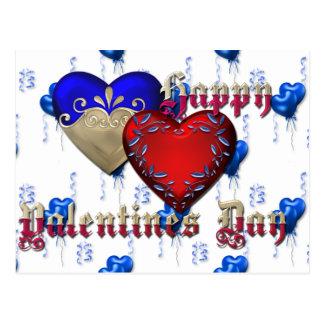 El día de San Valentín Postal