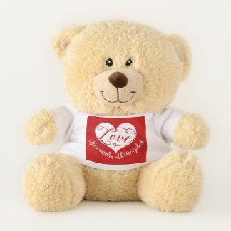 El día de San Valentín rojo del corazón de la