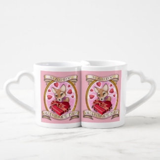 El día de San Valentín - tazas de la