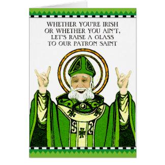 El día de St Patrick divertido Tarjeta De Felicitación