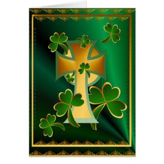 ¡El día de St Patrick feliz a usted! - oscuridad Tarjeta