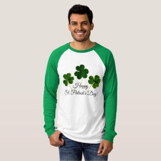 ¡El día de St Patrick feliz! camiseta verde y