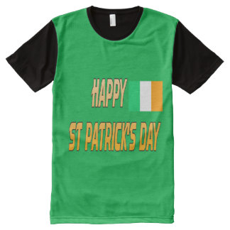 el día de St Patrick feliz por todo la camiseta