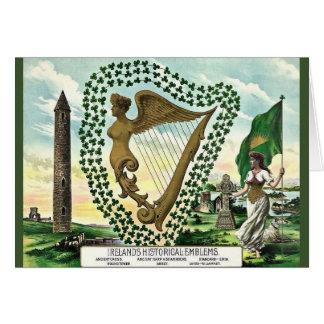 El día de St Patrick histórico irlandés de los Tarjeta De Felicitación
