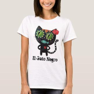 El día del gato negro muerto camiseta