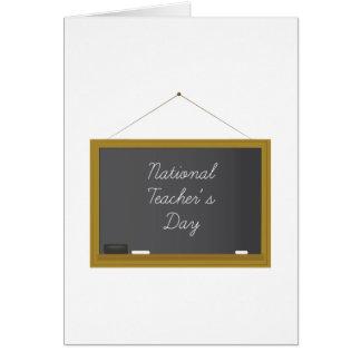 El día del profesor nacional tarjetas