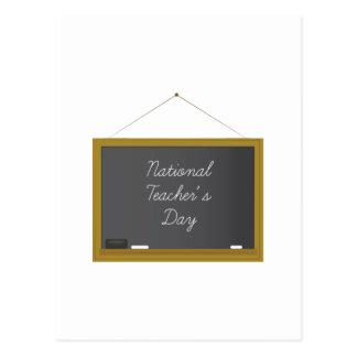 El día del profesor nacional postal
