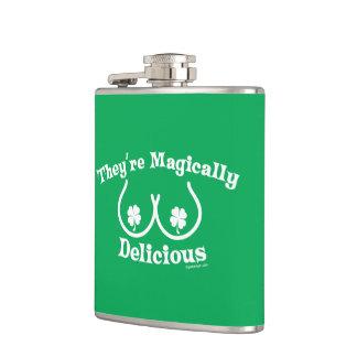 El día el | de St Patrick son mágico deliciosos Petaca