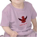 El día libre del Cupid - camisa divertida de la yo
