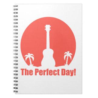 El día perfecto libreta espiral