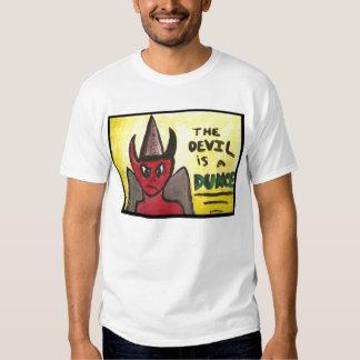 El diablo es una camiseta del tonto por Mandee
