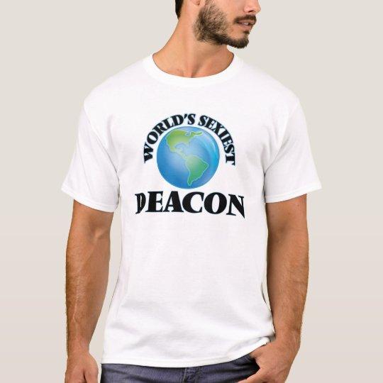 El diácono más atractivo del mundo camiseta
