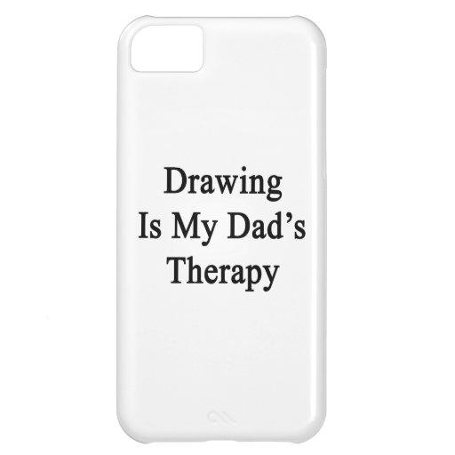 El dibujo es la terapia de mi papá