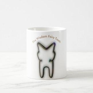 El diente de la hada de la sabiduría taza de café