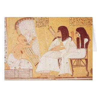 El difunto y su esposa tarjeta de felicitación