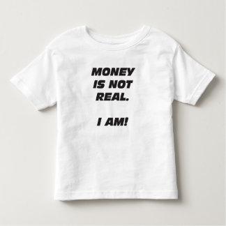 El dinero del niño no es real. ¡SOY! Camiseta