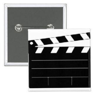 El director de película, cineasta, toma 1 pins