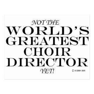 El director más grande Yet del coro Postal