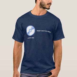 El disco basó juegos: No necesita ser conectado Camiseta