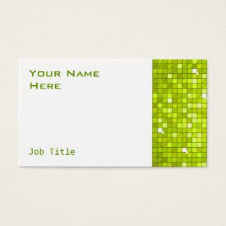 El disco teja blanco del lado de la tarjeta de