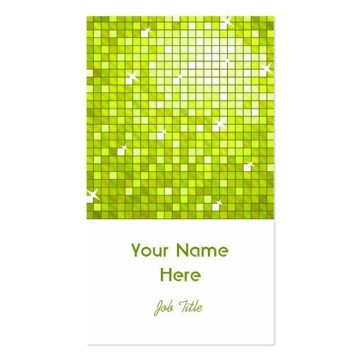 El disco teja el retrato del blanco de la tarjeta  plantillas de tarjetas de visita