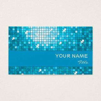 El disco teja la raya azul azul de la tarjeta de