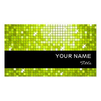 El disco teja la raya negra de la tarjeta de visit plantillas de tarjeta de negocio