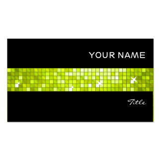 El disco teja negro de la raya de la teja de la ca tarjetas de visita