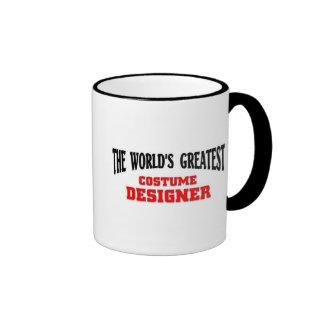 El diseñador de vestuario más grande taza a dos colores