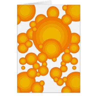 El diseñar anaranjado del año de los años 70