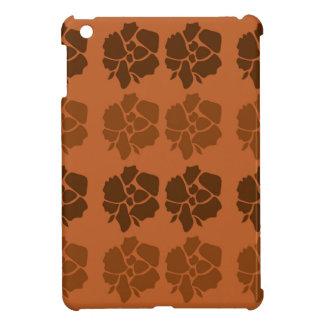 El diseño florece marrón del ethno